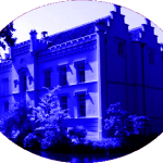 Huize Scherpenzeel blauw